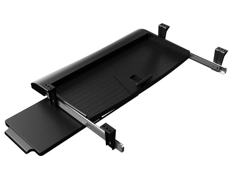 tastaturauszug dataflex tastaturhalterung unter dem schreibtisch. Black Bedroom Furniture Sets. Home Design Ideas