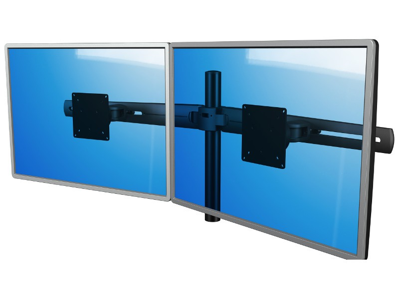 dataflex viewmaster multi monitor system schreibtisch. Black Bedroom Furniture Sets. Home Design Ideas