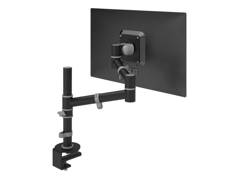 Dataflex Viewgo Monitor Tischhalterung mit Schwenkarm schwarz (48.123)