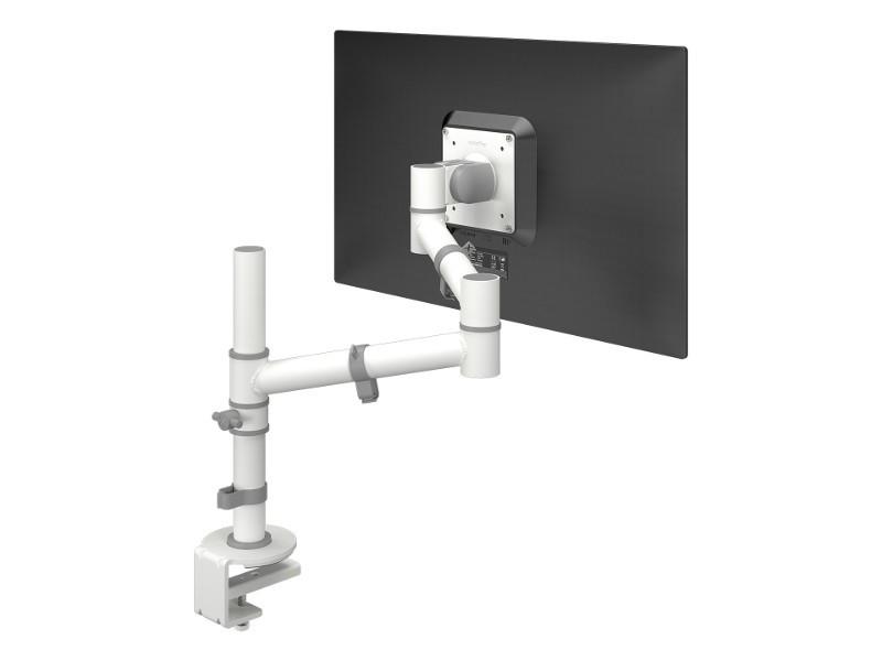 Dataflex Viewgo Monitor Tischhalterung mit Schwenkarm weiß (48.120)